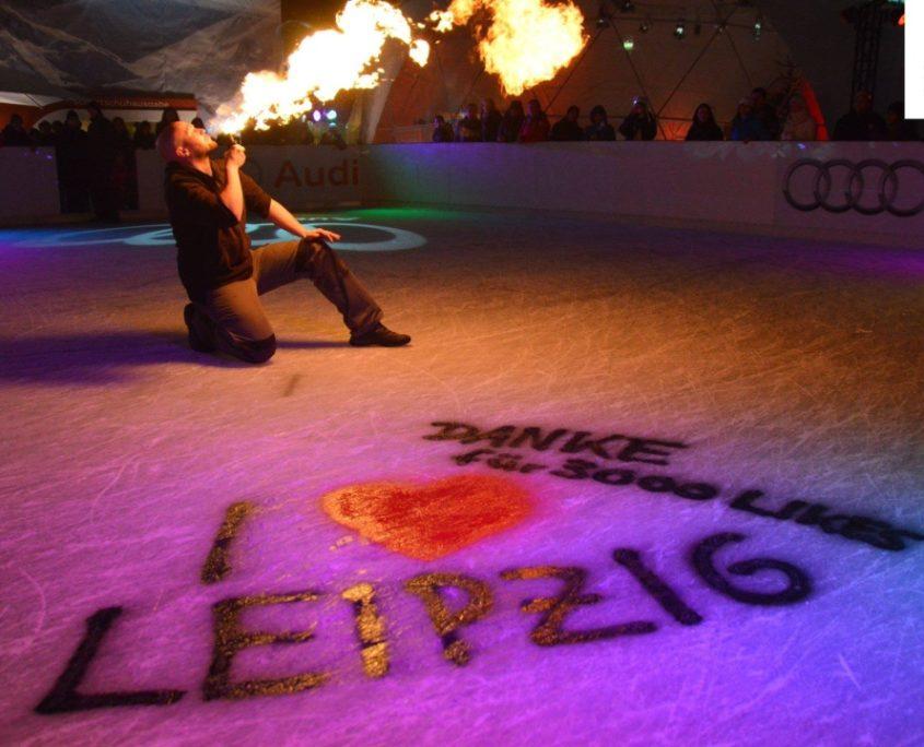 Feuer für Leipzig