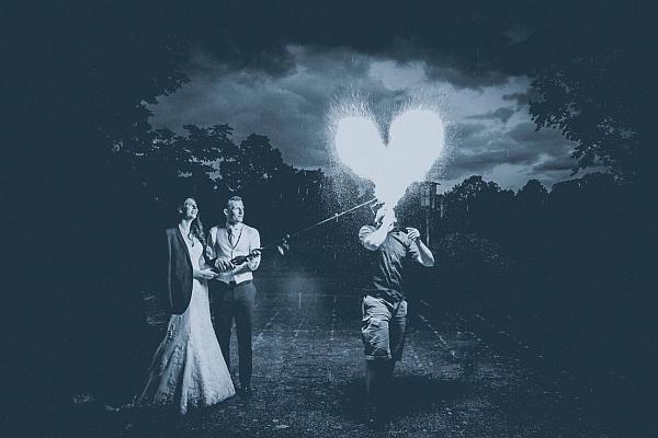Feuershow zur Hochzeit 3