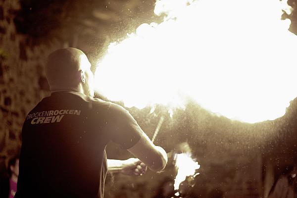 Portfolio Feuershow Firmenevent 2