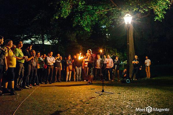 Portfolio Feuershow Firmenevent 3