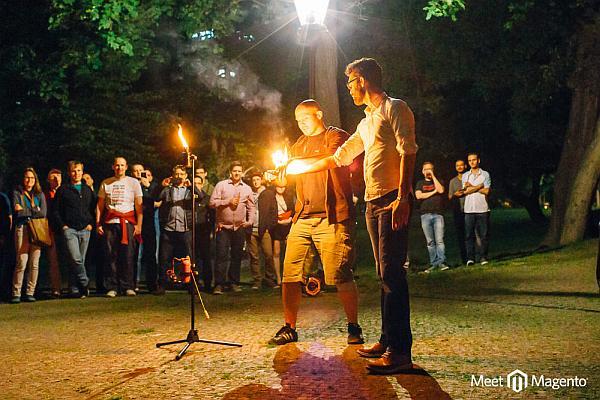 Portfolio Feuershow Training 3